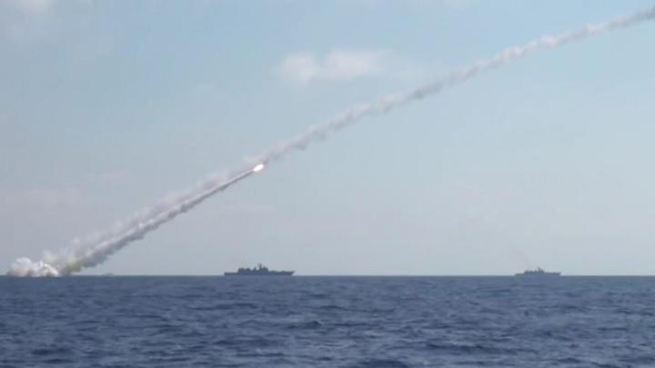 Атомный крейсер Смоленск поразил сложную цель на расстоянии в 400 км