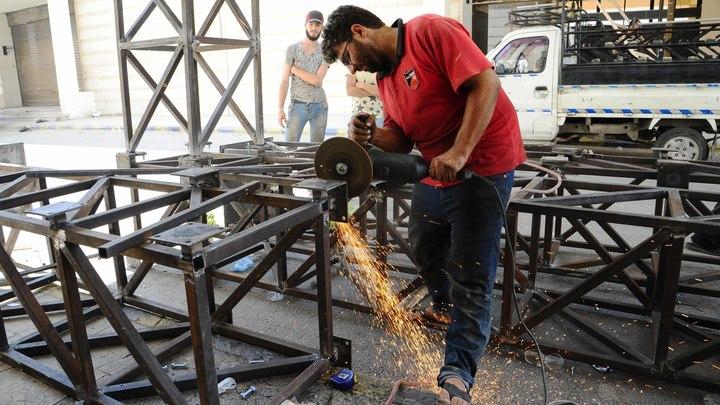 В Сирии возобновил работу завод по производству электрокабеля