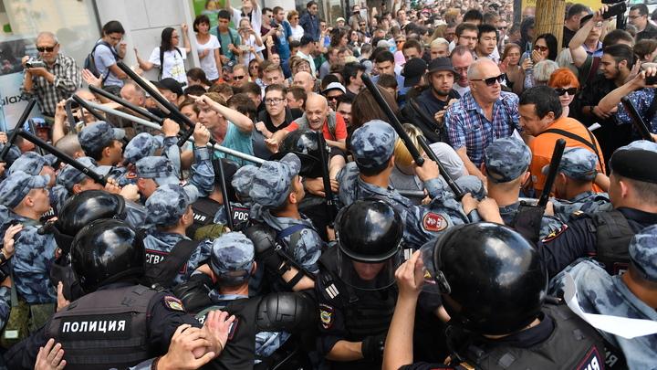Сценарий один: СК раскрыл схему московских протестов в одном видео