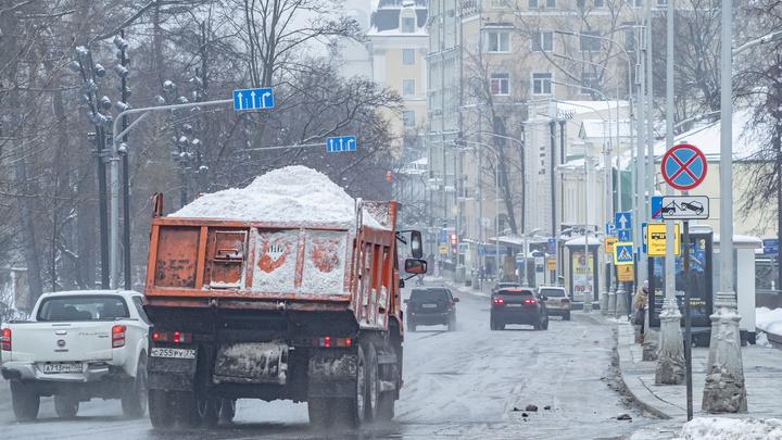 Вывоз снега в Нижнем Новгороде будут контролировать с помощью цифровых технологий