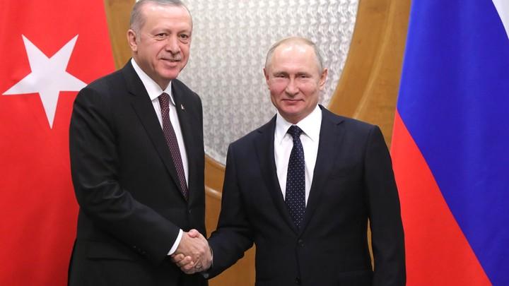 Встреча Эрдогана и Путина закрепляет антиамериканский курс Турции