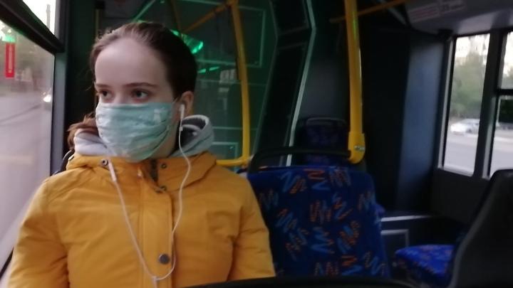Екатеринбуржец дал пощечину пассажирке за отсутствие маски в трамвае