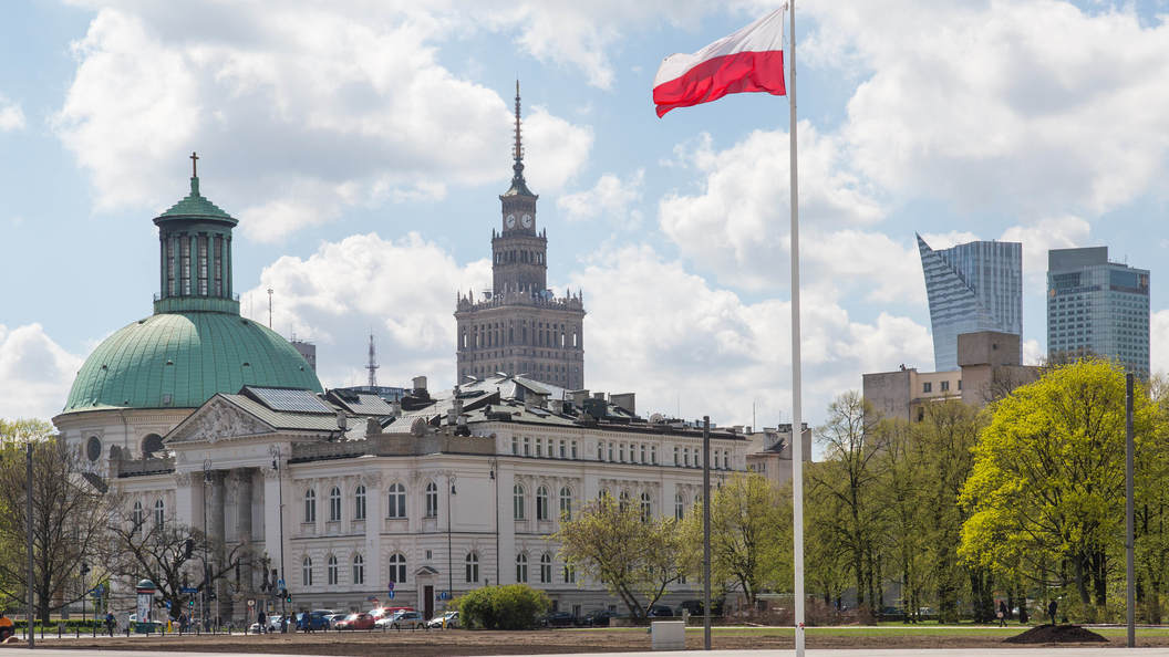 ВПольше снесли монумент признательности Красной армии