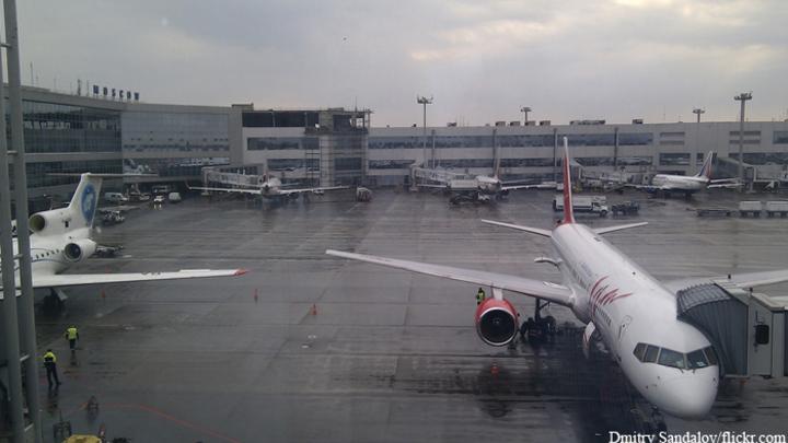 В Домодедово экстренно сел самолет с единственным пассажиром на борту