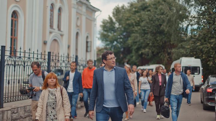 Квартал церкви Трёх Святителей открылся после масштабной реконструкции в Нижнем Новгороде