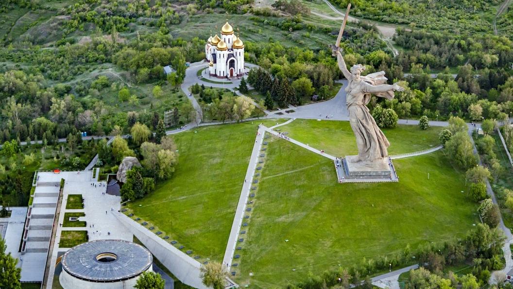 ВВолгограде часть Парка вдов погибших вСталинградской борьбе займет стоянка
