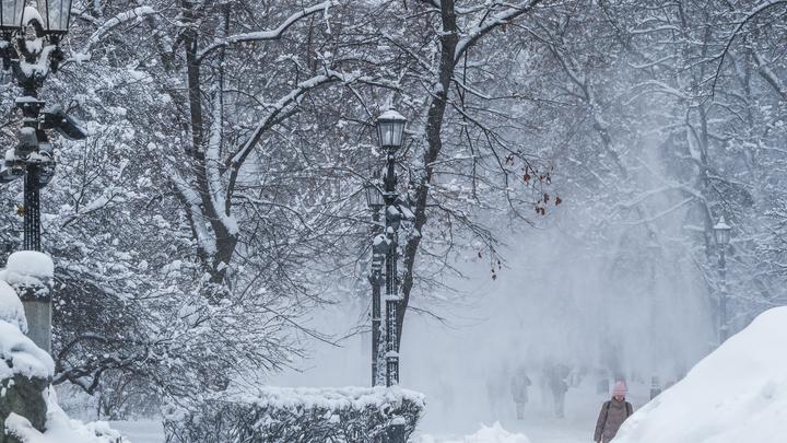 19 самолетов Аэрофлота выбыли из строя ввиду сильного снегопада в столице