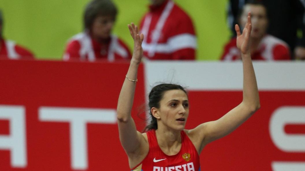 Российская и украинская прыгуньи тепло обнялись на ЧМ по легкой атлетике