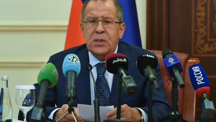 Лавров: Принимаемые в обход ООН санкции ставят под удар международные отношения