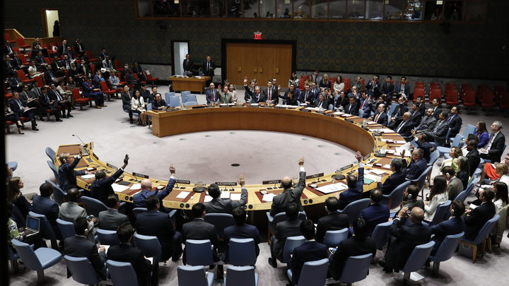 Вице-президент США Пенс и Порошенко не стали слушать выступление Лаврова в Совбезе ООН