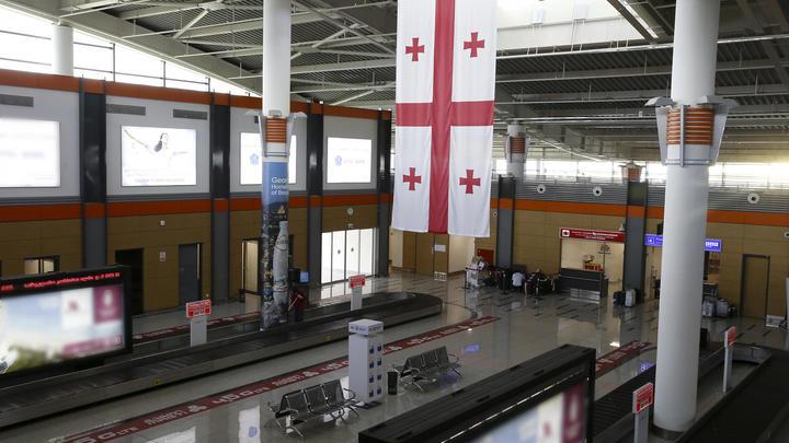 Ваэропорту Тбилиси схвачен житель россии
