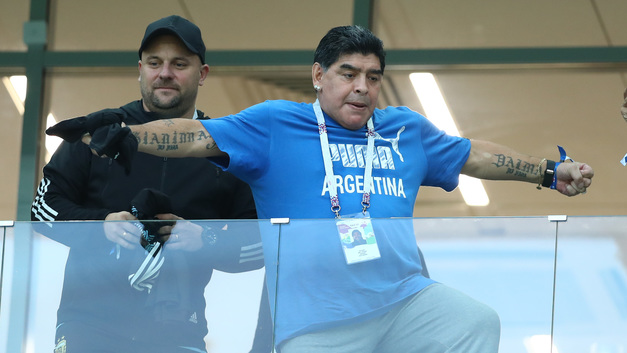 Остался без зарплаты: Марадона изгнан из послов ФИФА за неадекватное поведение