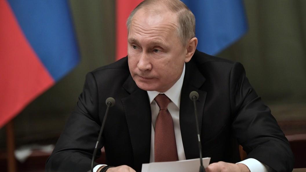 Путин обвинил США вподдержке Навального