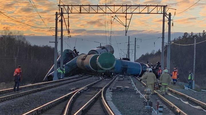 Последствия аварии состава с мазутом в Камешковском районе будут ликвидировать нефтяные бактерии