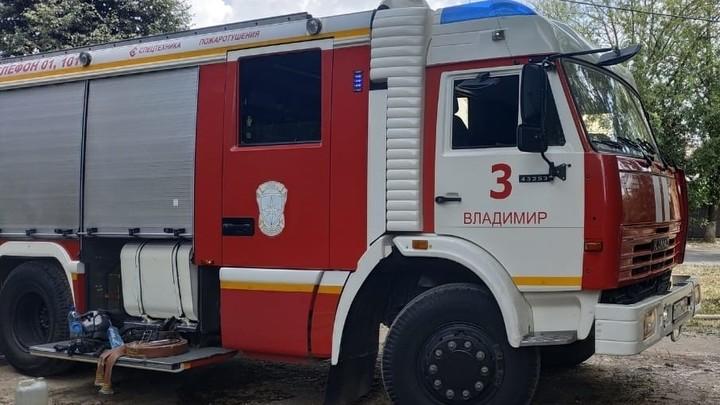 Во Владимире на пожаре в куче мусора сгорел мужчина без определенного места жительства
