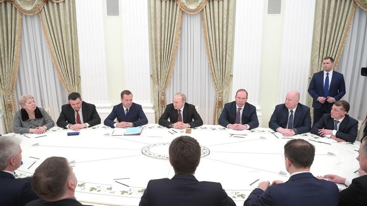 Сделано действительно немало: Путин поблагодарил ушедших в отставку министров