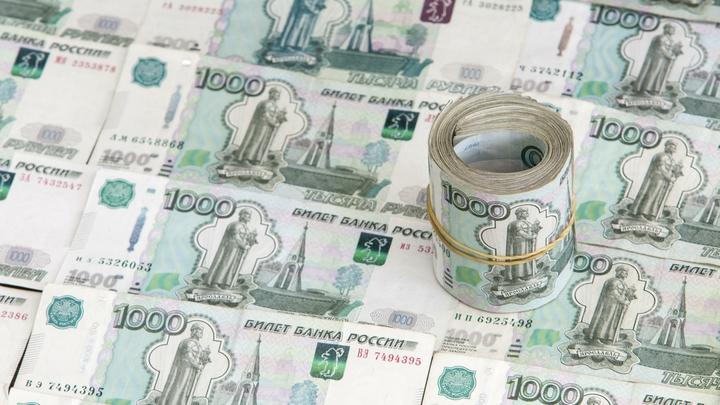 На падении курса рубля международные резервы выросли почти на процент