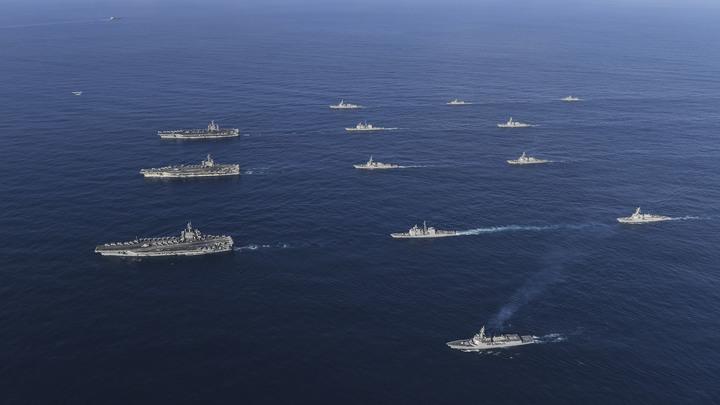 Неприкрытая провокация: В Совфеде оценили совместные манёвры США и Украины в Чёрном море