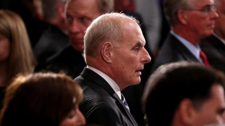 Генерал Келли может покинуть команду Трампа и Белый дом - CNN
