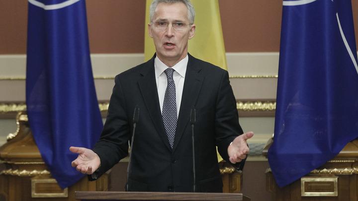 Генсек НАТО без следователей расследовал крушение MH17 и приехал в Киев с заявлением
