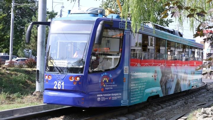 В Краснодар не доставили шпалы для новой трамвайной линии