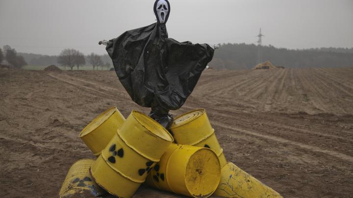 Россия ввезёт из Германии 12 тысяч тонн радиоактивных отходов
