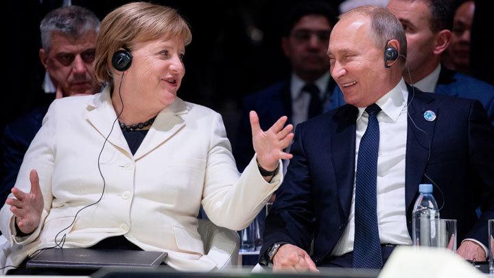 Да будет газ. Путин и Меркель показали Трампу кукиш