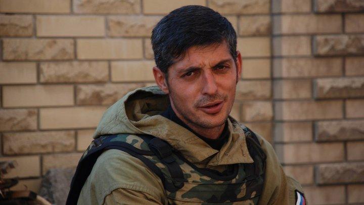 Командир Гиви вернулся в строй после ранения под Донецком