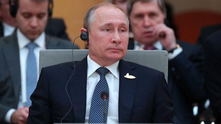 Двумя руками - Появилось видео рукопожатия Трампа и Путина