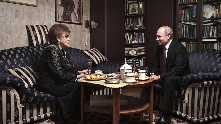 Большая утрата: Песков рассказал о реакции Путина на смерть Вербицкой