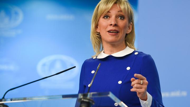 Сломалась через пару серий: Захарова не смогла увидеть в Зеленском президента Украины