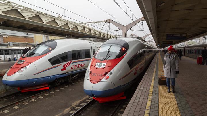 Глава РЖД пообещал скорость поездов 350-400 км/ч к 2026 году