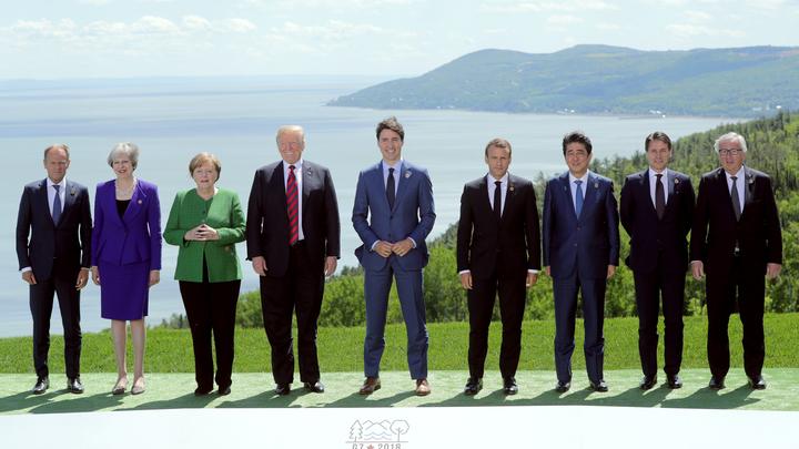Трамп и Трюдо на саммите G7 отшучивались от вопросов о пошлинах