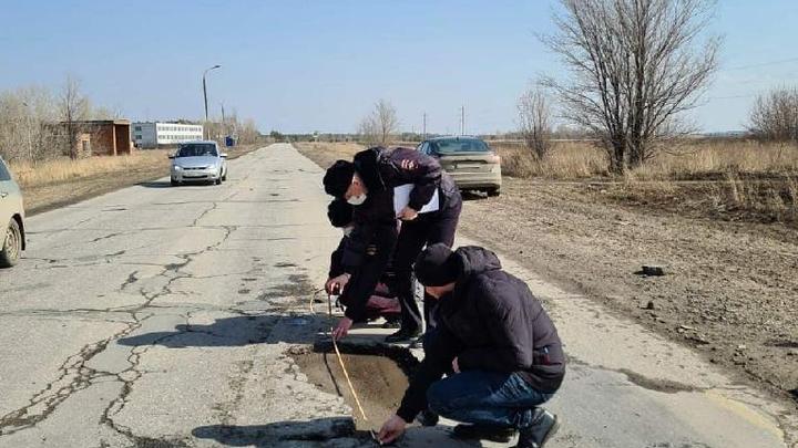 Состояние дорог в Самарской области проверила прокуратура: ямы и выбоины