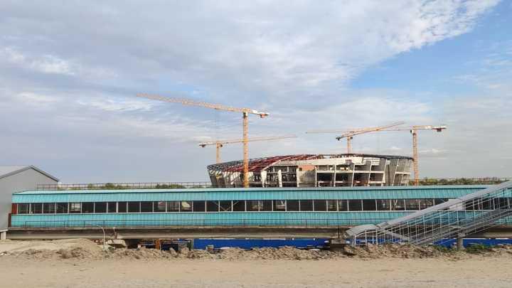 В Новосибирске осуждённых привлекли к работам по строительству ЛДС к МЧМ-2023