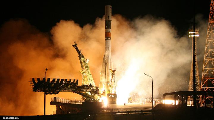 Ракету Союз запустили с космодрома во Французской Гвиане с опозданием на 1,5 месяца