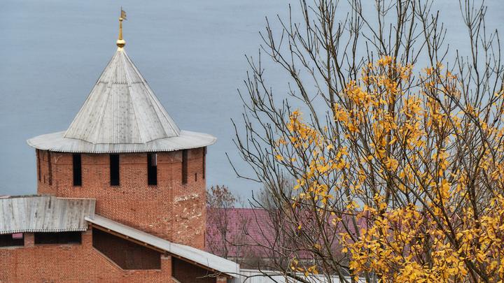 Игровой домик обрушился в Нижегородском кремле через минуту, как оттуда вышел 1,5-годовалый малыш