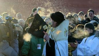 Крещение в Москве в этом году будет необычно теплым