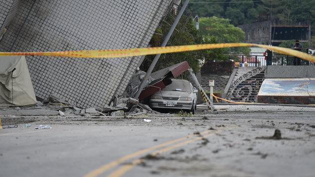 Тайвань сотрясло второе за сутки мощное землетрясение