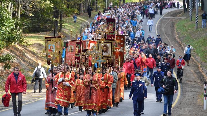 Царский крестный ход в 2021 году в Екатеринбурге не стали отменять из-за ковида