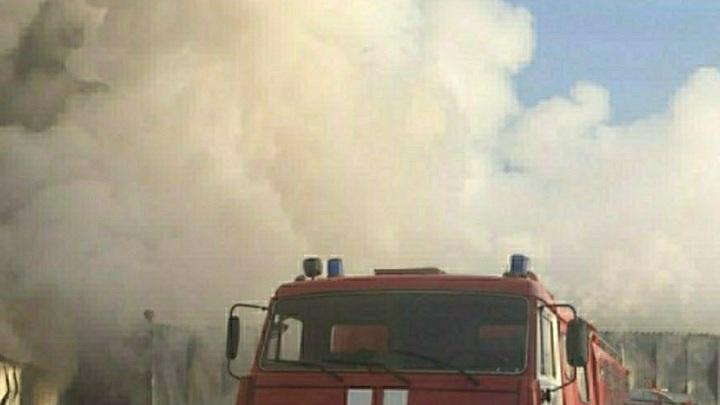 Из окна - чёрный дым: В здании подразделения Минюста РФ в центре Москвы вспыхнул пожар