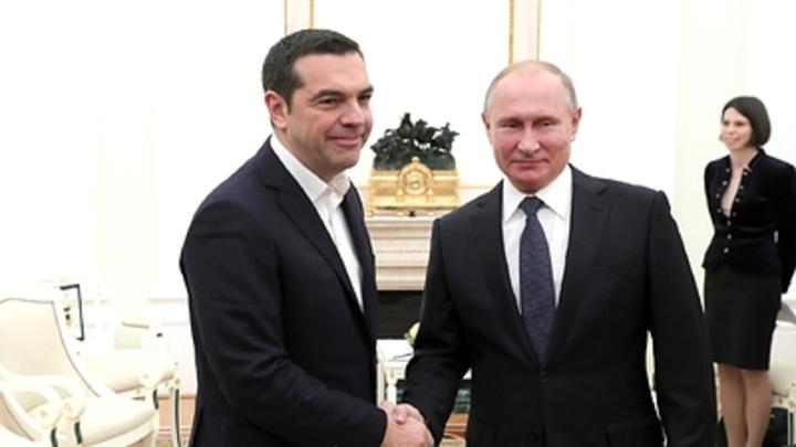 ″Если Путин подарит″: Премьер Греции пообещал вновь надеть галстук