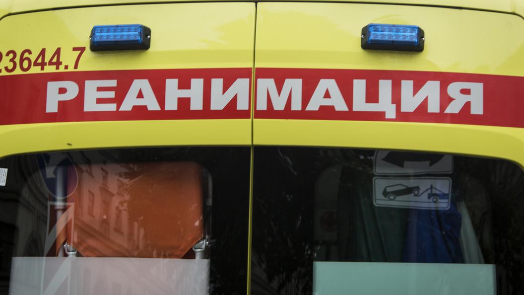 Сбитого на пешеходном переходе ребенка на вертолете доставили в больницу в Москве