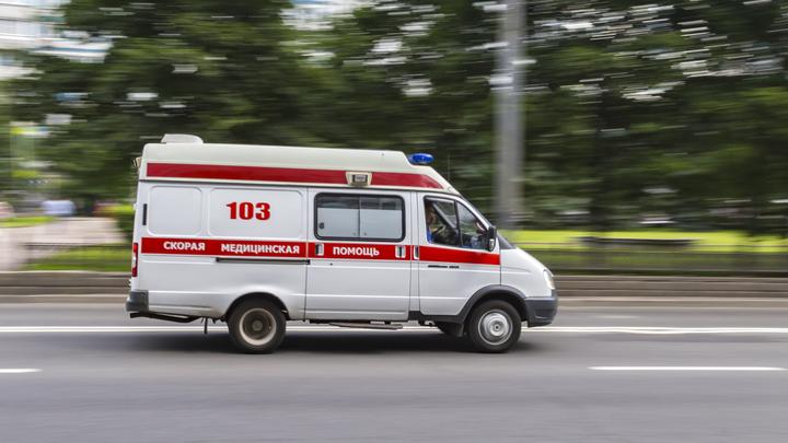 В Подмосковье «КамАЗ» протаранил рейсовый автобус