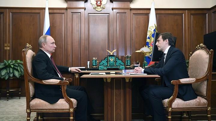 Зарплаты педагогам пересмотрят, а удалёнка - временная мера: Путин и Кравцов обсудили образование