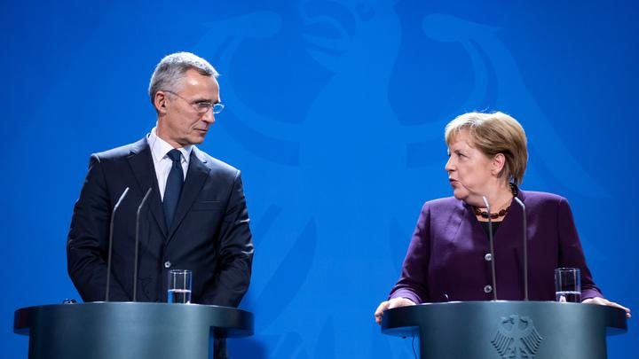 Мозг умер, зато силы много: Меркель и Столтенберг оживили НАТО-мертвеца