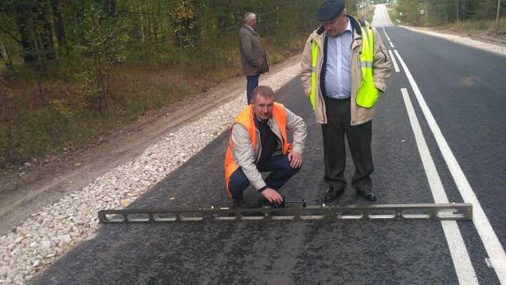 В Семеновском районе завершили ремонт дороги протяженностью 15 км