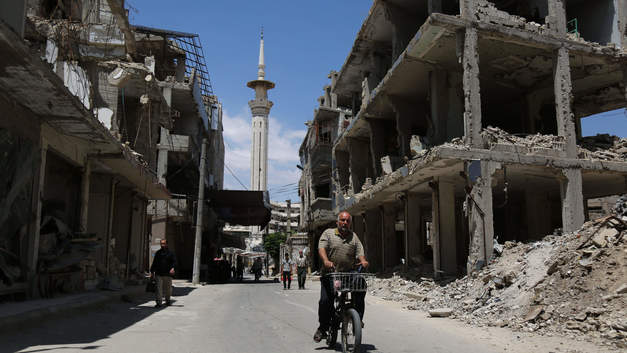 Власти Сирии приступили к возрождению разрушенного боевиками Хомса