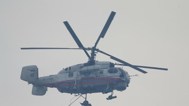Спасатели обнаружили с воздуха, где упал пропавший в ХМАО вертолет Ми-2