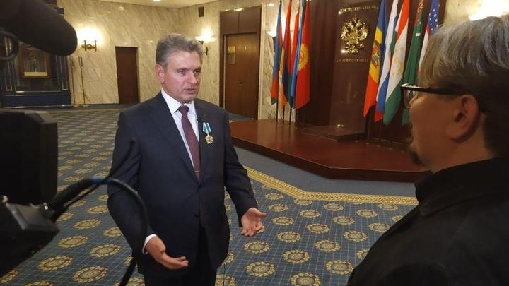 Отношения с Россией - это вопрос выживания: В Кремле наградили главу движения Русофилы Болгарии Николая Малинова